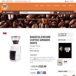Baratza Encore Coffee Grinder - Coffee Omega