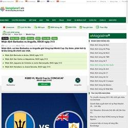 Nhận định Barbados vs Anguilla, 05h30 ngày 31/3
