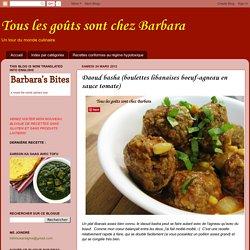 Tous les goûts sont chez Barbara: Daoud basha (boulettes libanaises boeuf-agneau en sauce tomate)