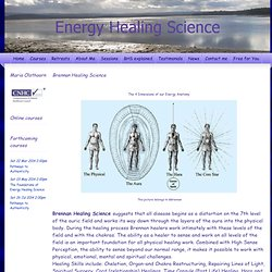 'Barbara Brennan Healing Science''Energy Therapist'