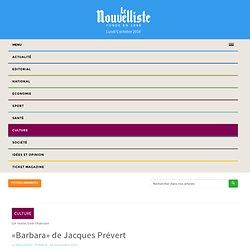 «Barbara» de Jacques Prévert