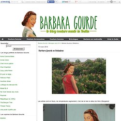 Barbara Gourde en Belladone - Barbara Gourde