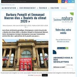 Barbara Pompili et Emmanuel Macron élus «Boulets du climat 2020»