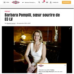 Barbara Pompili, sœur sourire de EE-LV