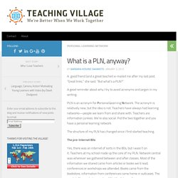 What is a PLN, anyway?