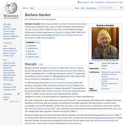 Barbara Smoker