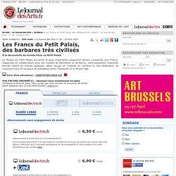 Les Francs du Petit Palais, des barbares très civilisés - Le Journal des Arts - n° 36 - 18 avril 1997