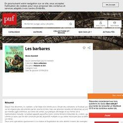 Les barbares - Bruno Dumézil - Hors collection - Format Physique et Numérique