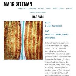 Barbari — Mark Bittman