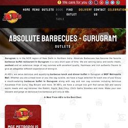 Barbecue Buffet Restaurant in Gurugram