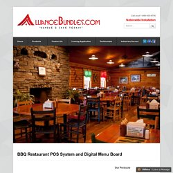 Barbecue Restaurant POS System and BBQ Point of Sale