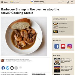 Barbecue Shrimp in the oven or atop the stove? Cooking Creole