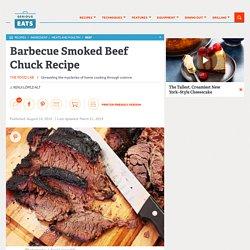 Barbecue Smoked Beef Chuck Recipe