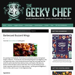 Barbecued Buzzard Wings
