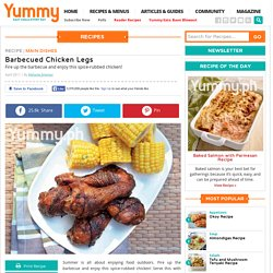 Barbecued Chicken Legs