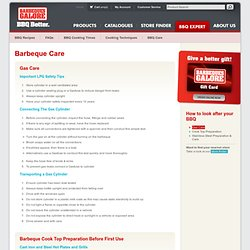 Barbeques Galore - Barbeque Care