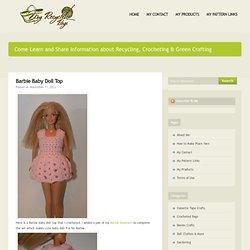 Crochet: Barbie Baby Doll Top