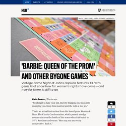 'Barbie: Queen of the Prom' and other bygone games
