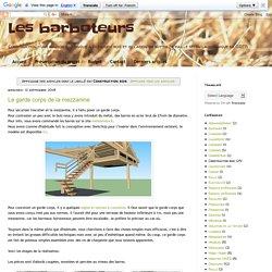 Les barboteurs: Construction bois
