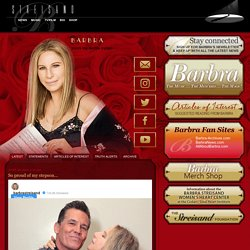 The Official Barbra Streisand Site