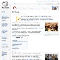 BarCamp - Wikipedia