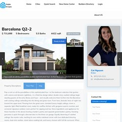 Barcelona Q2-2 Plan - MainVue Homes- 5 bedrooms, 5.5 baths, 4422 sqft - Phillips Creek Ranch Frisco TX,75034