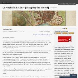 Cartografia i Món - [Mapping the World]