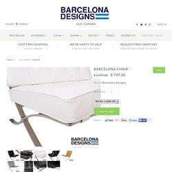 Barcelona Chair – Barcelona Designs