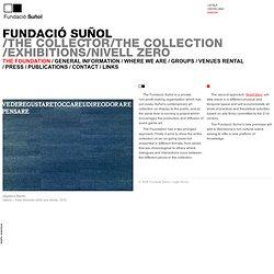 Fundació Suñol, Barcelona. Contemporary Art. | La Fundació