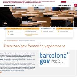 Barcelona'gov, formación y gobernanza