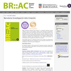 [ES]BRAC, Barcelona Research Art Creation