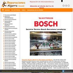 Servicio técnico Bosch Barcelona