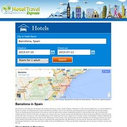 Barcelona Hotels - Hotels in Barcelonals - Hoteltravelexpress.com