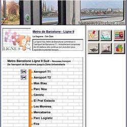 Metro de Barcelone ligne 9 - Comment se rendre de l'aeroport de Barcelone au centre ville