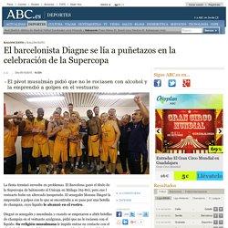 El barcelonista Diagne se lía a puñetazos en la celebración de la Supercopa