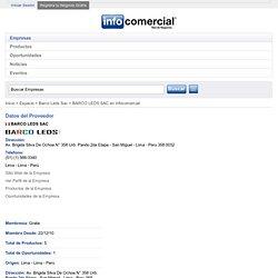 BARCO LEDS SAC En Infocomercial