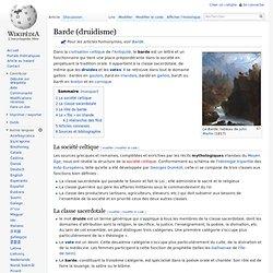 Barde (druidisme)