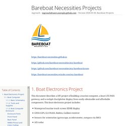 Bareboat Necessities Projects