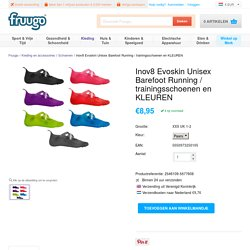 Inov8 Evoskin Unisex Barefoot Running / trainingsschoenen en KLEUREN