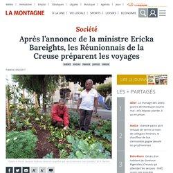 Après l'annonce de la ministre Ericka Bareights, les Réunionnais de la Creuse préparent les voyages - Guéret (23000)