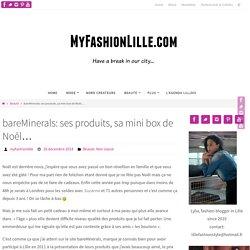 bareMinerals: ses produits, sa mini box de Noêl…
