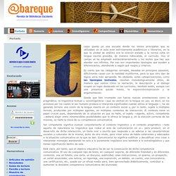 @bareque: Revista de bibliotecas escolares