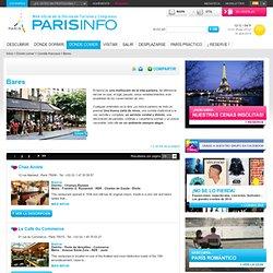 Bistrots : Dónde tomar una copa / comer : Oficina de Turismo de Paris
