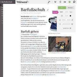 Barfußschuh - Wikiwand