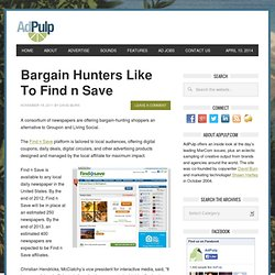 Bargain Hunters Like To Find n Save