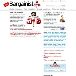 The Bargainist | Deals, Sales & Coupons
