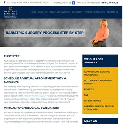 Bariatric Surgery Step by Step Process