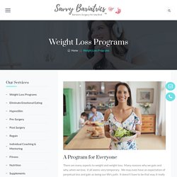 Bariatric & weight loss program in Melbourne