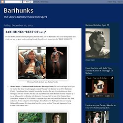 "BARIHUNKS ""BEST OF 2013"""