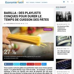 Barilla : des playlists conçues pour durer le temps de cuisson des pâtes